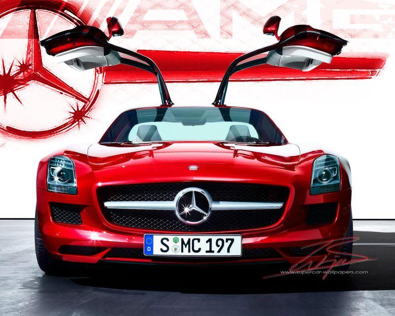 Mercedes SLS AMG 1280x1024